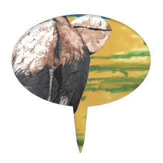 Elefante Decoración Para Tarta