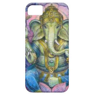 elefante afortunado Buda de Ganesha del caso del i iPhone 5 Protectores