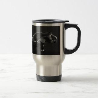 Elefante afortunado del encanto taza de café