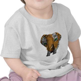 Elefante africano (2).png de Bush Camisetas