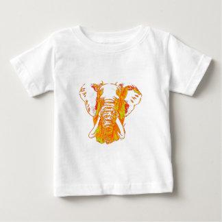 Elefante africano del arte pop camiseta