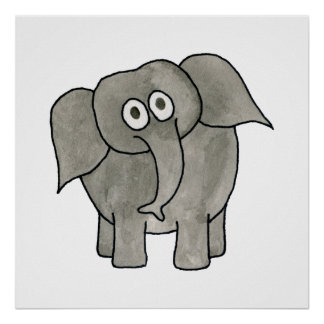 Elefante africano posters