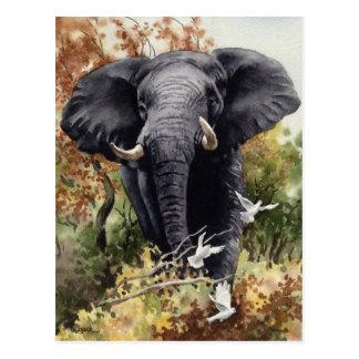 Elefante africano postal
