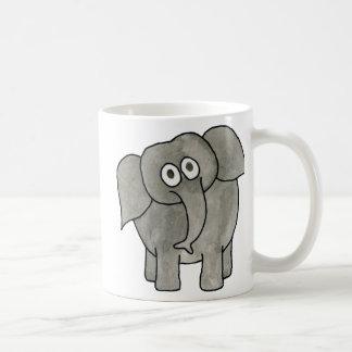 Elefante africano tazas