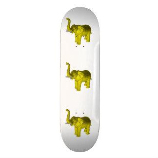 Elefante amarillo patín personalizado