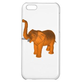 Elefante anaranjado