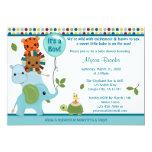 Elefante animal APK de la invitación de la fiesta