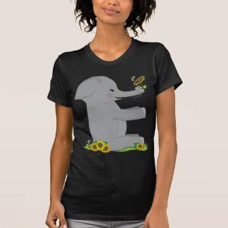 Elefante animal del alfabeto playeras
