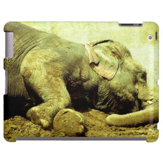 Elefante asiático - caso del iPad