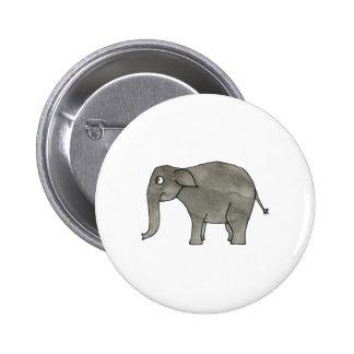 Elefante asiático pin