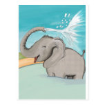 Elefante AVAL Postales