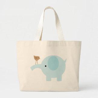 Elefante azul bolsas