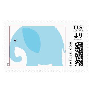 Elefante azul claro envio