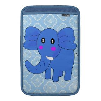 Elefante azul funda para macbook air
