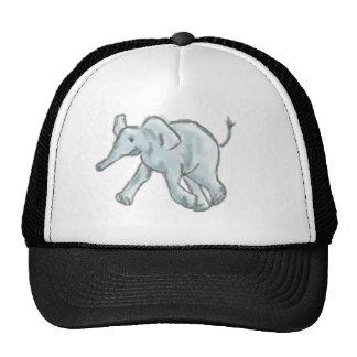 Elefante azul lindo gorros