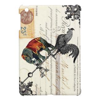Elefante banal elegante francés de la vid del tiem iPad mini protectores