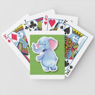 Elefante Baraja De Cartas