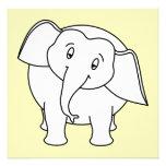 Elefante blanco soñoliento. Historieta Comunicado