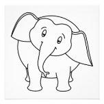 Elefante blanco soñoliento. Historieta Comunicado Personal