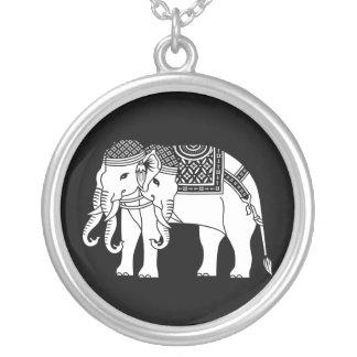 Elefante blanco tailandés de Erawan Colgante Personalizado