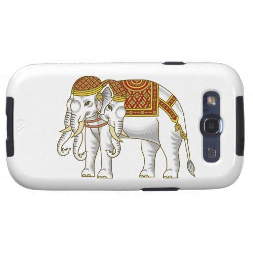 Elefante blanco tailandés de Erawan Galaxy SIII Protector