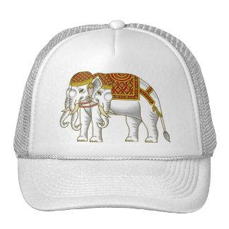 Elefante blanco tailandés de Erawan Gorros Bordados