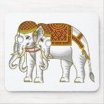 Elefante blanco tailandés de Erawan Alfombrilla De Raton
