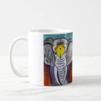 Elefante blanco taza