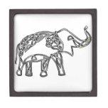 Elefante Cajas De Recuerdo De Calidad