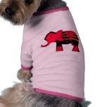 Elefante Camisa De Mascota