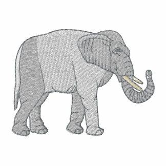 Elefante Camiseta Polo Bordada