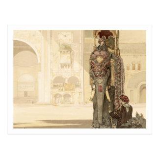 """Elefante ceremonial, """"del libro de la selva"""" por R Postal"""