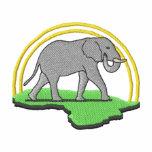 Elefante Chaquetas Bordadas