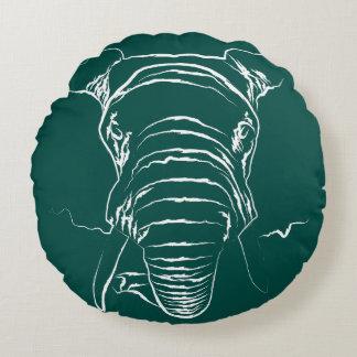 Elefante Cojín Redondo