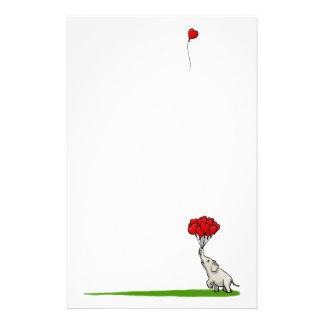 Elefante con Baloons Papeleria Personalizada