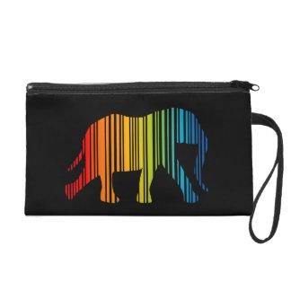 Elefante con clave de barras de color