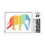 Elefante con clave de barras de color envio