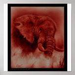 Elefante de Endone Poster