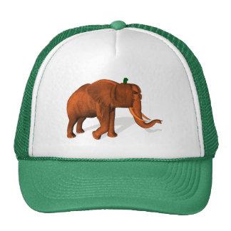 Elefante de Halloween Gorras