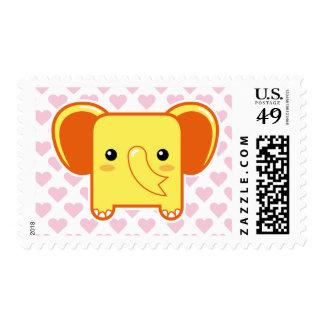 Elefante de Kawaii Franqueo