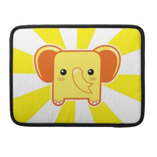Elefante de Kawaii Funda Para Macbook Pro
