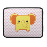 Elefante de Kawaii Fundas Macbook Pro