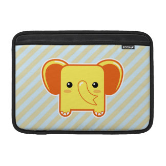 Elefante de Kawaii Fundas Para Macbook Air