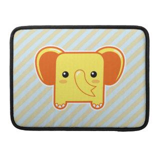 Elefante de Kawaii Fundas Para Macbook Pro