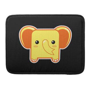 Elefante de Kawaii Fundas Para Macbooks
