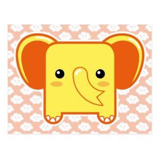 Elefante de Kawaii Postal