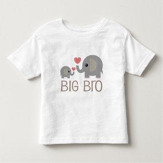Elefante de la idea del regalo de hermano mayor playeras