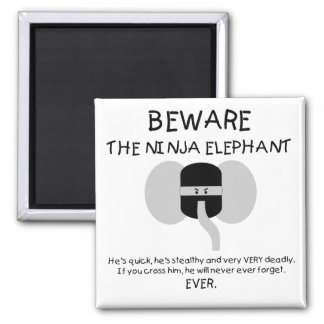 Elefante de Ninja Iman De Nevera