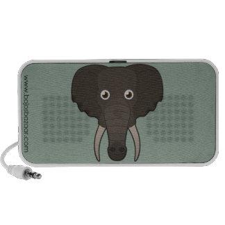 Elefante de papel iPod altavoces