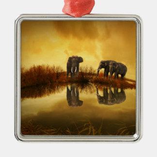 Elefante Ornamente De Reyes